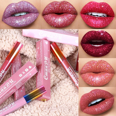 Shimmer Liquid Lip Gloss - $9.9 Only Today