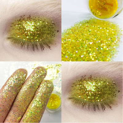 34 Color Bright Eyeshadow Shiny Nails DIY Beauty Lips
