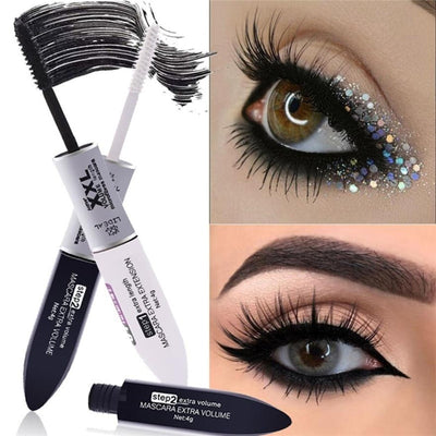2 in 1 4D silk fiber mascara