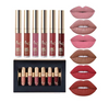 6pcs/Set Liquid Lip Gloss
