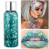 Mermaid Sequin Tattoo Pigment Body Gel