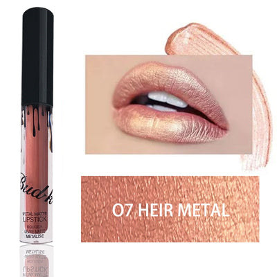 Matte liquid lip gloss + lip pencil