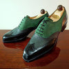 ITALIAN HANDMADE SUEDE LACE-UP MEN'S SHOES