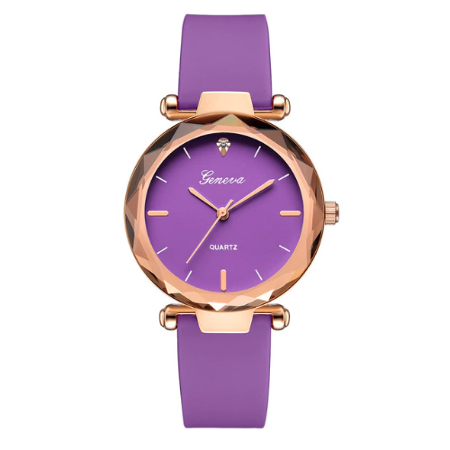 "Ladies Watch ""Geneva"" - 9 Colourways"
