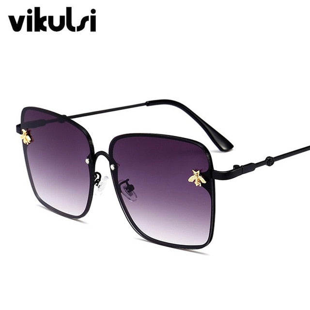 Retro Square Sunglasses Women