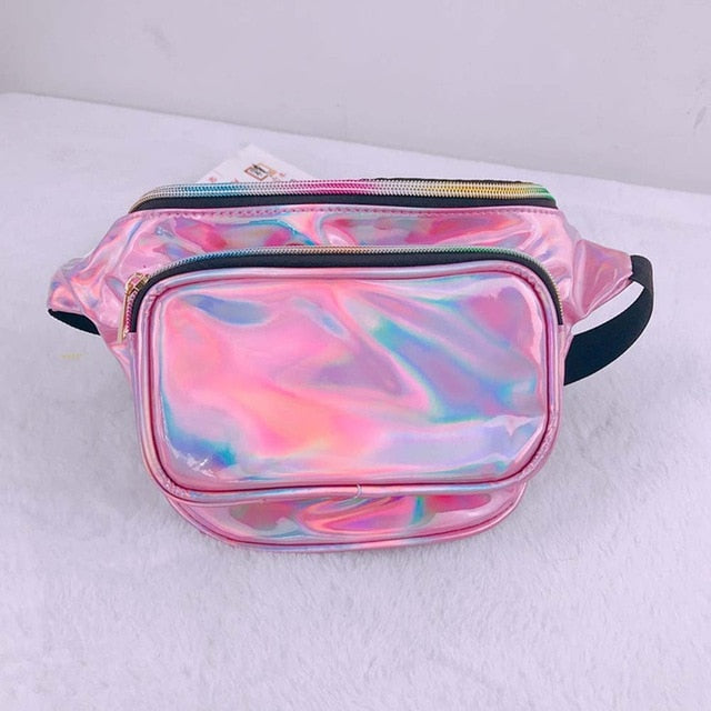 Holographic Waist Bag For Women