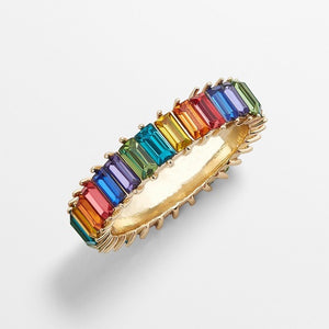 eternity 9 colors rings