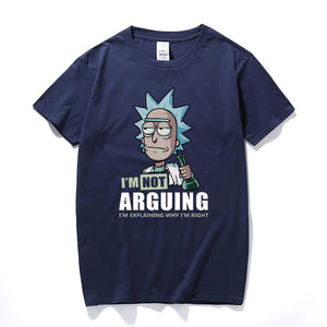 Rick and Morty T-Shirt  I'm Not Arguing I'm Explaining Why I'm Right Unisex