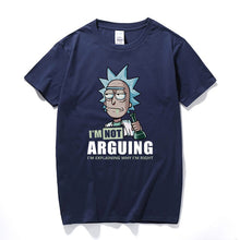 Load image into Gallery viewer, Rick and Morty T-Shirt  I'm Not Arguing I'm Explaining Why I'm Right Unisex