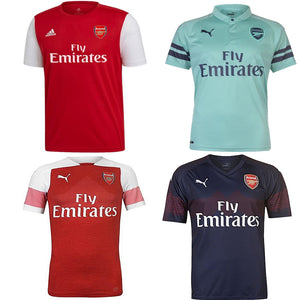 Arsenal 2020 / 2019 - 18 Home Away Third Shirts