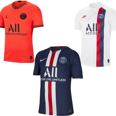 PSG 2019-2020 Kits Home Away Blue White