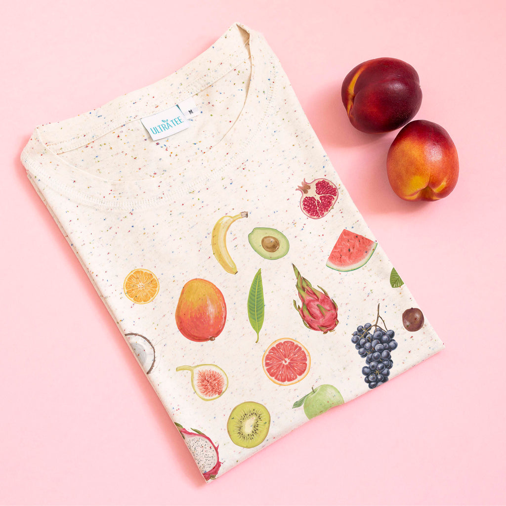 Fruits Speckled Tee