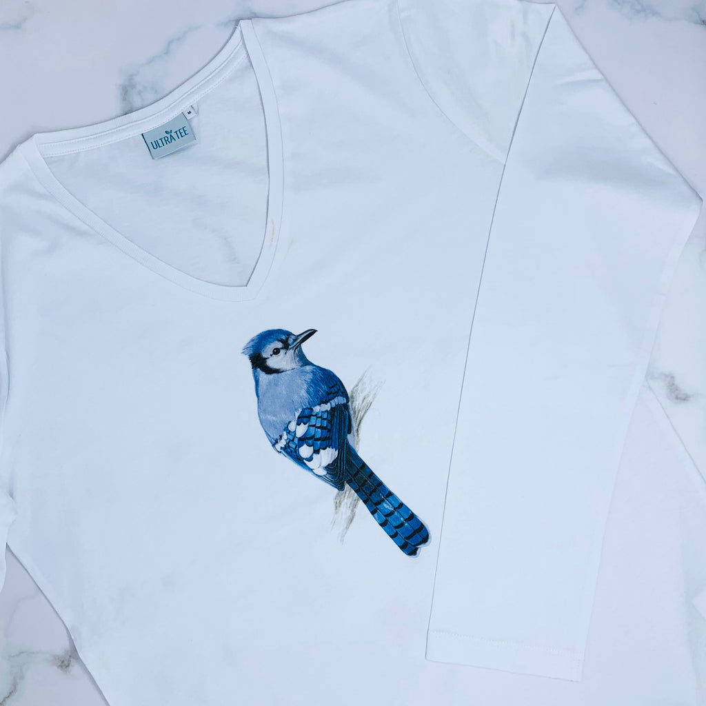 Blue Jay Long Sleeves T-shirt