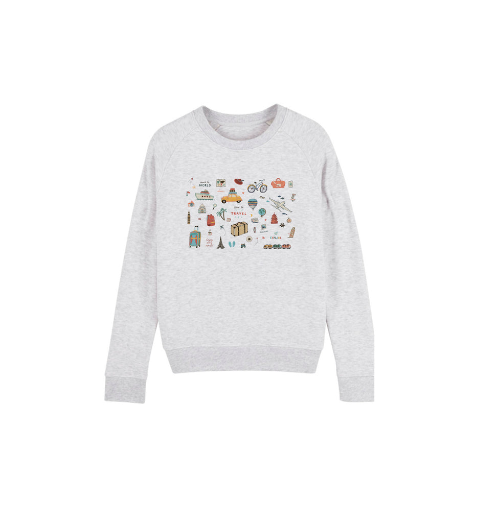 Let's Travel Sweat-shirt