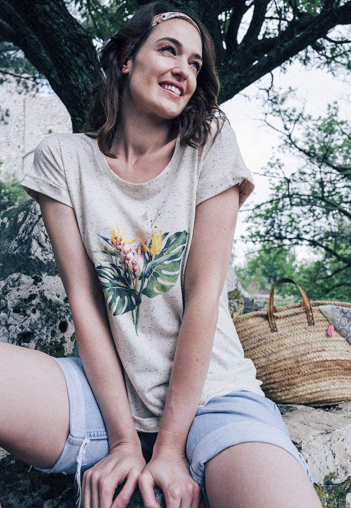 Tropics Speckled Tee