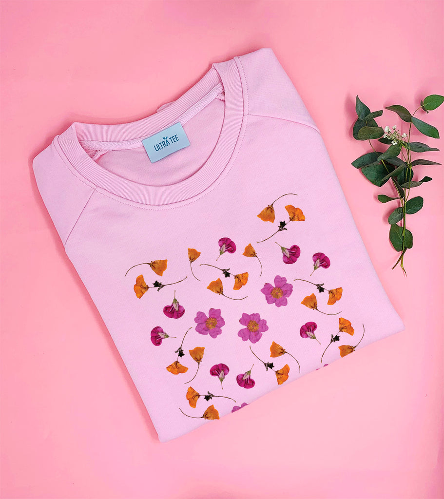 Pressed Flowers Sweat-shirt