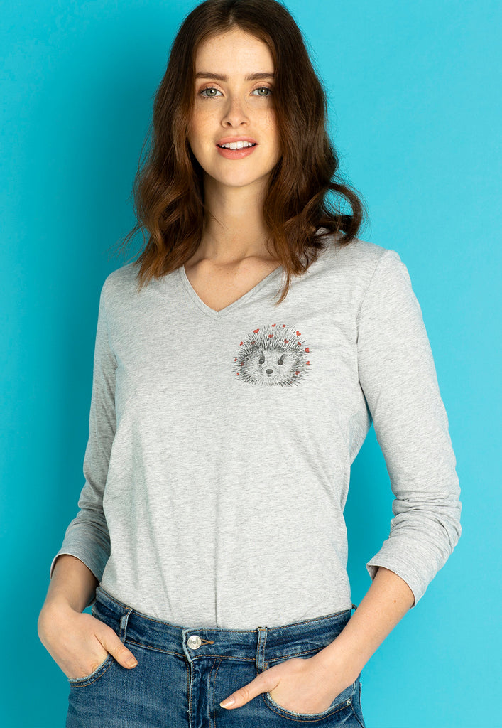 Hedgehog Long Sleeves T-shirt
