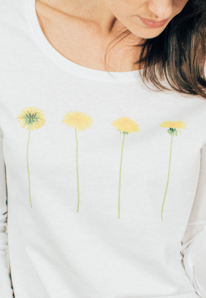 Dandelions Long Sleeves T-shirt