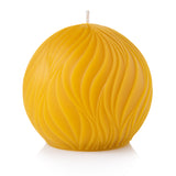 passion pure beeswax round candle