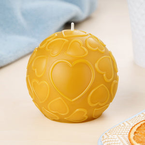 love pure beeswax candle