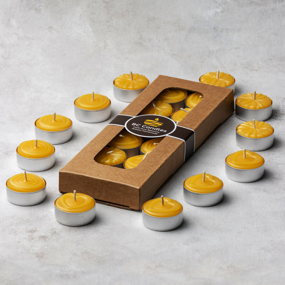 pure beeswax tealight mix
