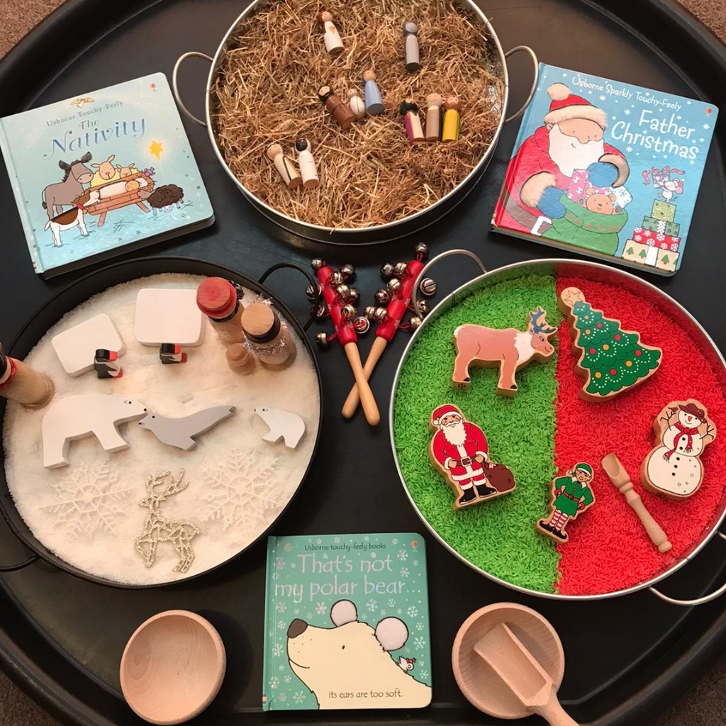 A Christmas Themed Tuff Spot Activity by Jess Perry