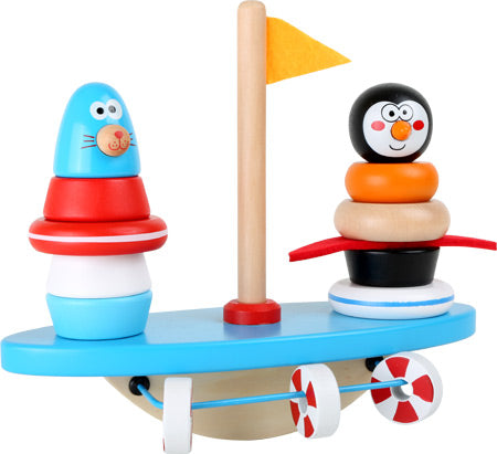 South Pole Puzzle Game & Balancing Rocker