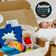 Quarterly Sensory-Play Subscription   Baby's starting age: 3-6 months   Three boxes   £43.97 per box (billed/sent every three months)   FREE delivery