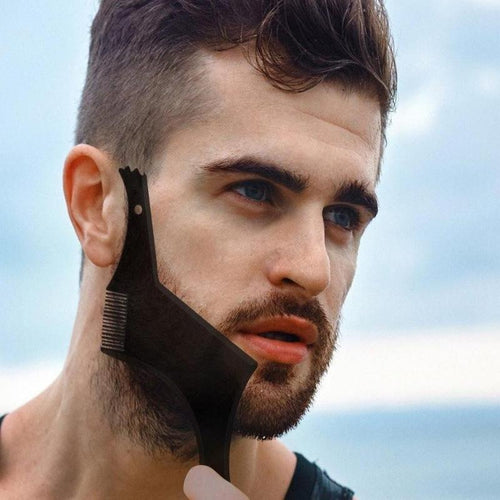 All-In-One Template Beard Comb