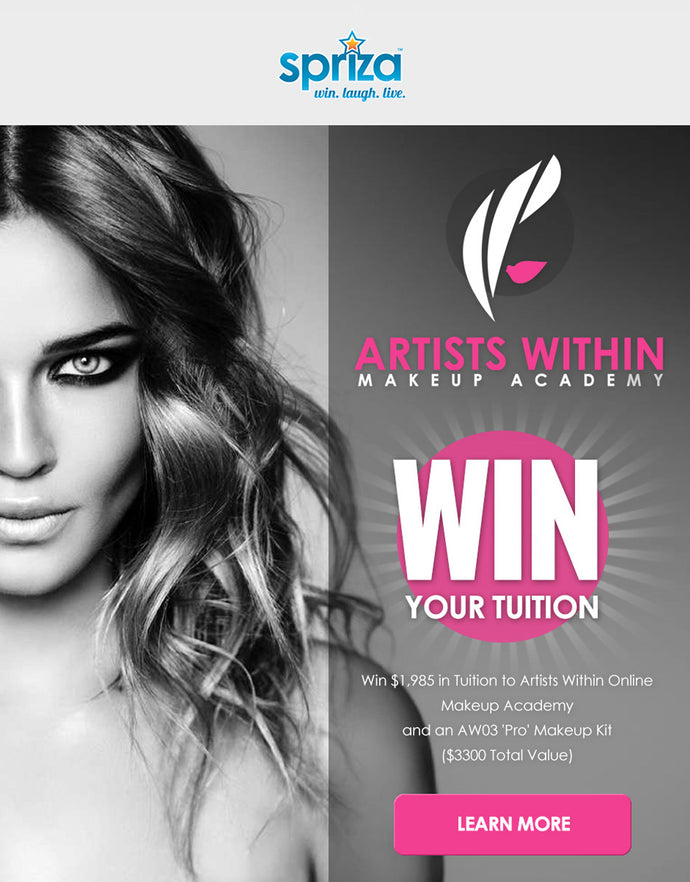Win Online Tuition and a Pro Makeup Kit!