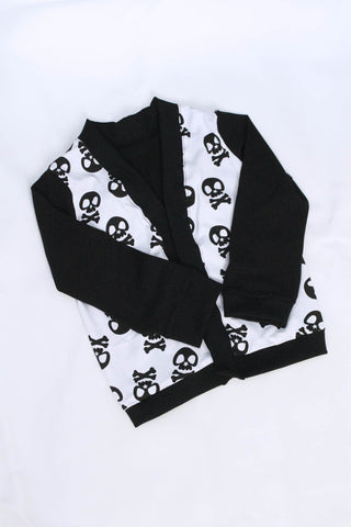 Skull print cardigan in size 8 by AnkleBitersKids