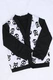 Skull print cardigan in size 8 by AnkleBitersKids alternate