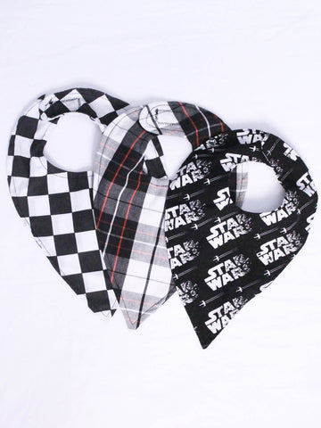 Limited Edition Star Wars bib fashion bib set by AnkleBitersKids