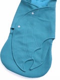 baby Mint bat swaddle blanket wing details