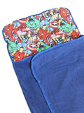 Anklebiterskids avengers bed roll pillow top
