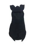0-3 Month Newborn Solid Black Baby Bat swaddle blanket sleeping bag by AnkleBitersKids