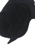 0-3 Month Newborn Solid Black Baby Bat swaddle blanket sleeping bag by AnkleBitersKids detail