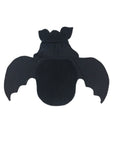 0-3 Month Newborn Solid Black Baby Bat swaddle blanket sleeping bag by AnkleBitersKids both wings