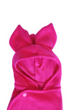 Solid Hot Pink Baby Bat swaddle blanket sleeping bag baby photography costume by AnkleBitersKids hood