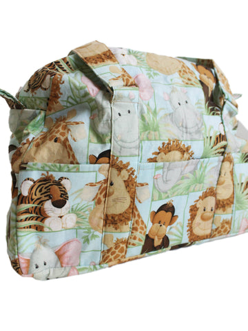 Baby Animals Duffle style Diaper baby bag