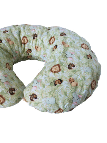Jungle baby half moon pillow and cover