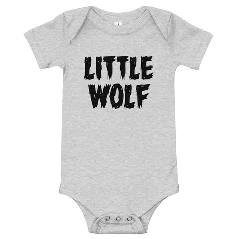 Little Wolf Infant Bodysuit by AnkleBitersKids