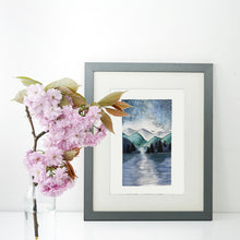 Load image into Gallery viewer, Blue Mountain Scene