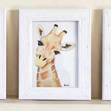 Load image into Gallery viewer, Safari Animal Portraits Set of 4
