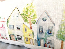 Load image into Gallery viewer, Village Townhouses Cushion