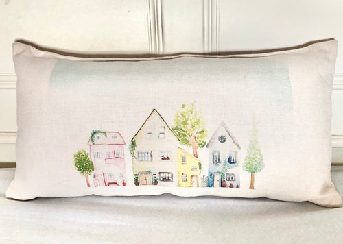 Village Townhouses Cushion