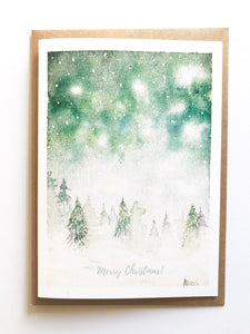 Snowy Forest Scenes - Christmas Cards - Set of 10