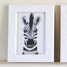 Load image into Gallery viewer, Zebra Portrait