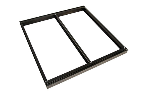 STRUCTURAL DECK TILE FRAME, NO WOOD (Cassette Type)