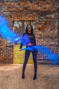 DisQuize smoke Bomb Photoshoot 2019